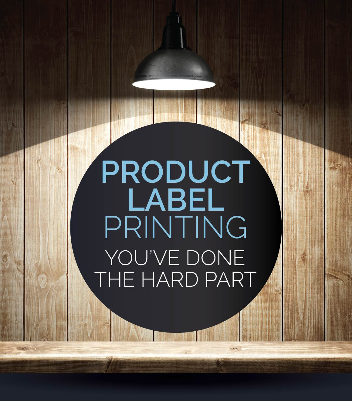 Product Label Printing for small business.